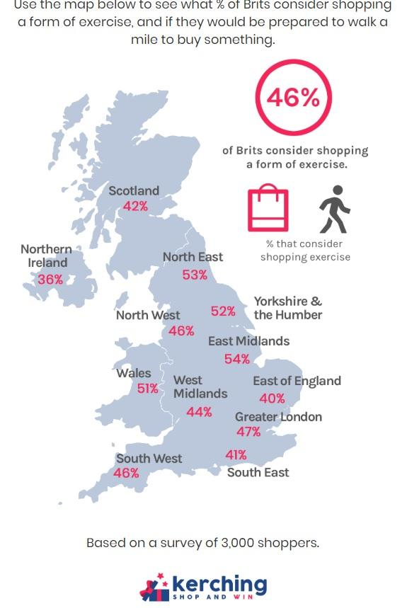 Brentwood Live: An infographic of shopping habits across the UK