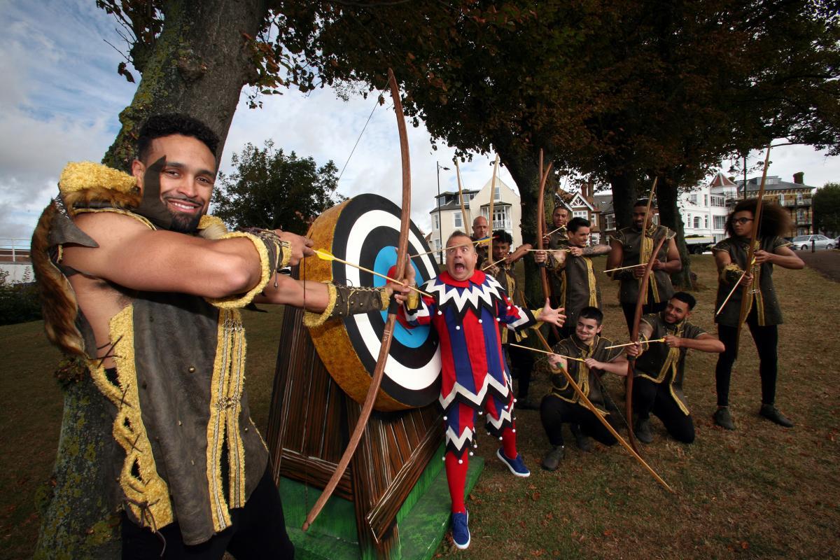 Diversity star in Cliffs Pavillion pantomime Robin Hood