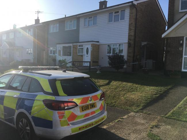 Scene - Essex Police remained on scene for more than 24 hours