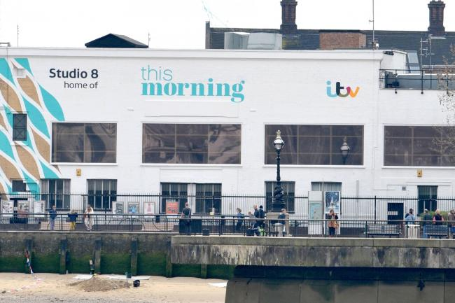 ITV This Morning studio stock