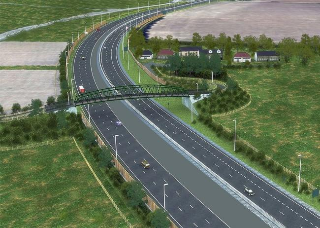 Much-needed - the A13 widening project