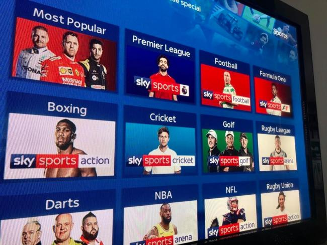 How to pause your Sky Sports subscription for free during coronavirus. Picture: Newsquest