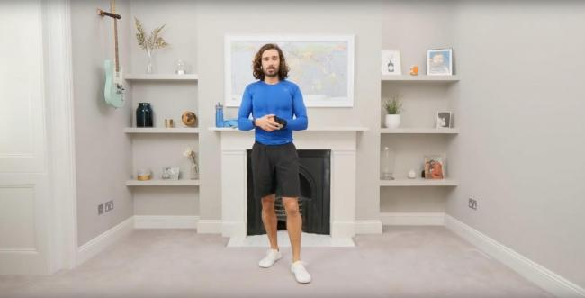 Joe Wicks is keeping kids fit with his at home PE classes. Picture: Youtube/The Body Coach