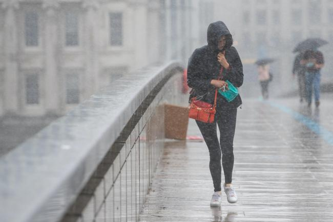 UK could get two months' rainfall in just a few hours as thunderstorms move in