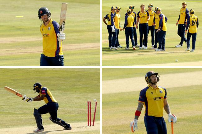 Home defeat - Essex were beaten by Sussex    Pictures: TGS PHOTOS