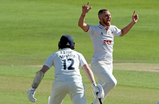 Fired up - Essex bowler Jamie Porter