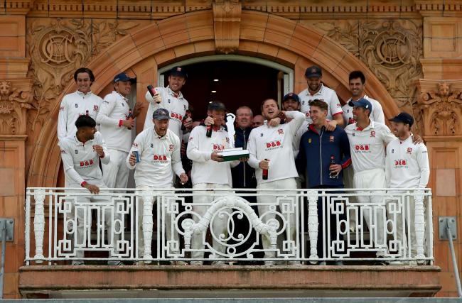 More success - Essex have won the Bob Willis Trophy final   Picture: GAVIN ELLIS/TGS PHOTOS