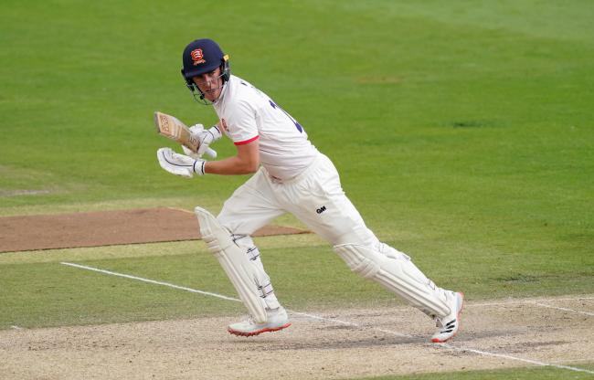 Great start - Essex star Dan Lawrence helped England to victory on his international debut