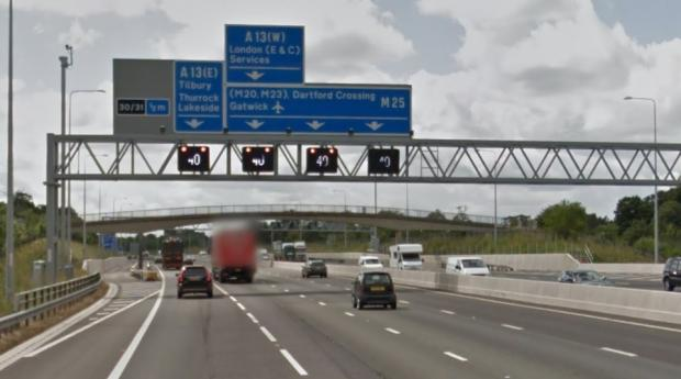 Brentwood Live: M25 signs