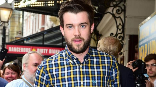 Comedian Jack Whitehall hands out exam results to GCSE students