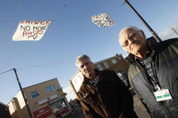 Brentwood Live: Jaywick councillors Kevin Watson and Roy Raby