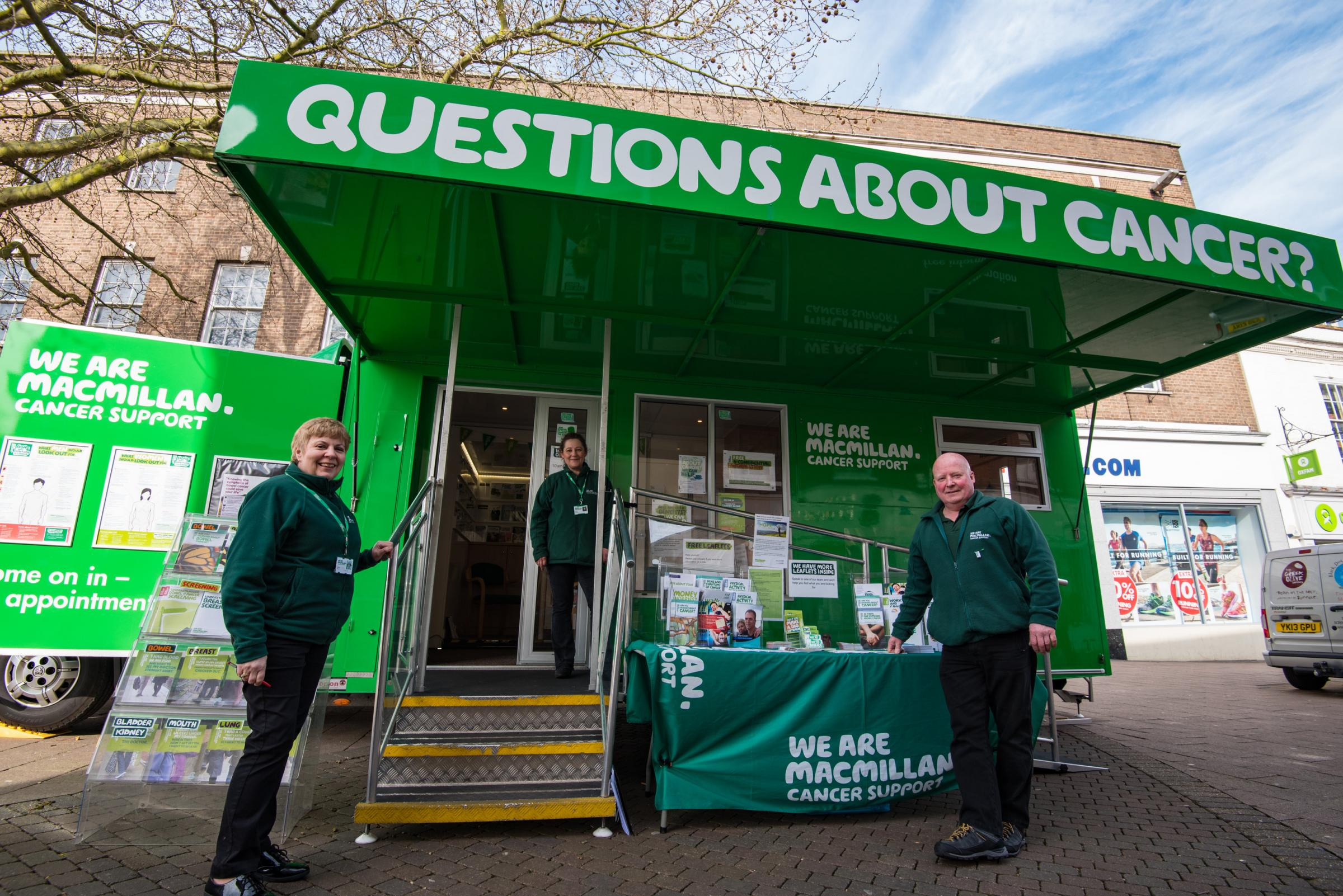 Macmillan Cancer Support Information Service in Harwich