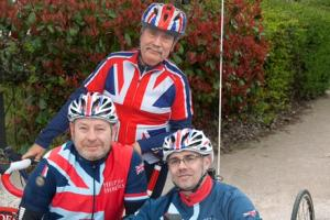Veterans call on support from famous face ahead of 1,400 mile cycling challenge