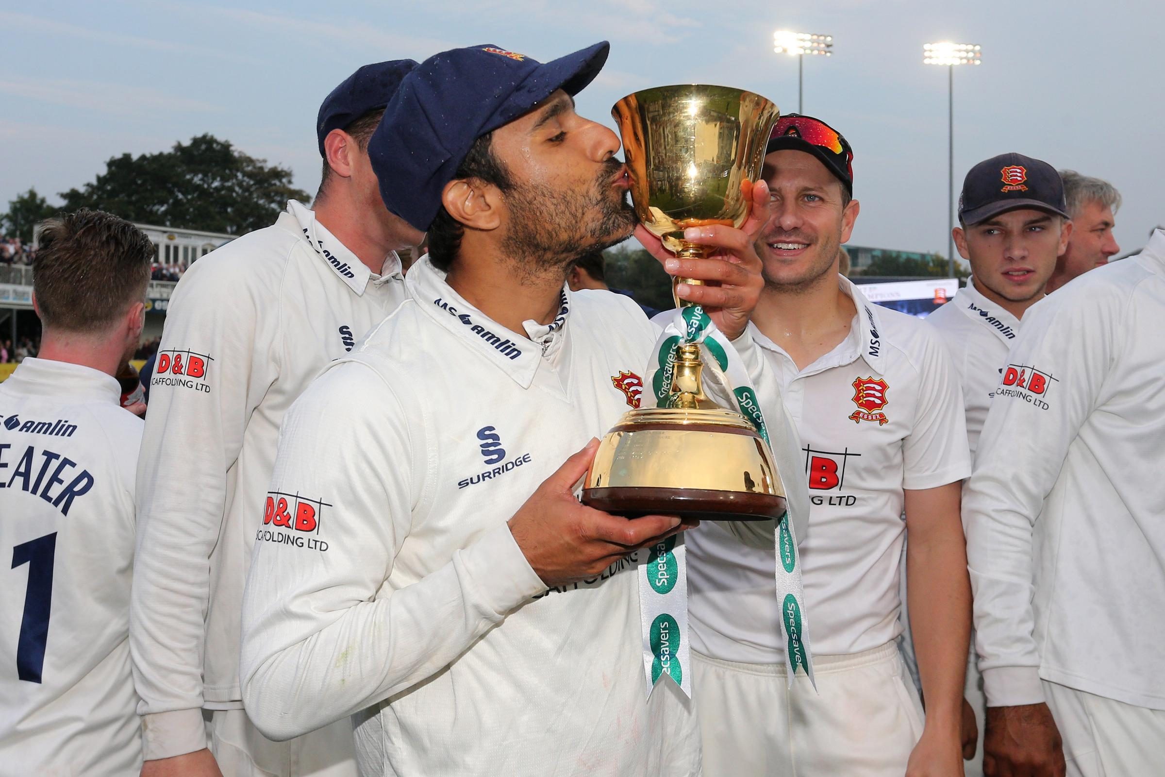 Sticking around - Essex have confirmed Ravi Bopara will remain at the club next season Picture: TGSPHOTO