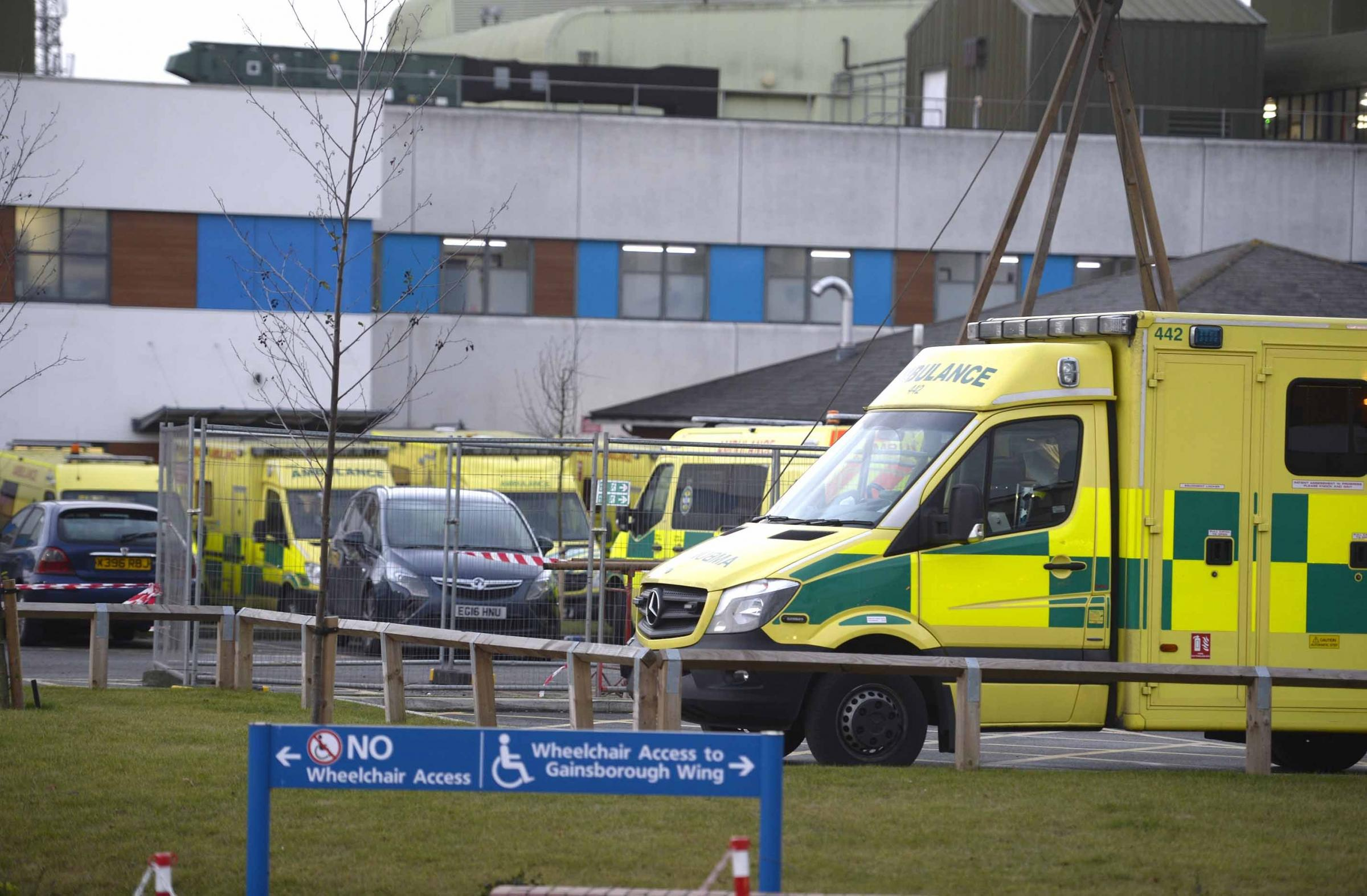 Warning - ambulance staff are gearing up for a festive rush  Inset: Dr Tom Davis