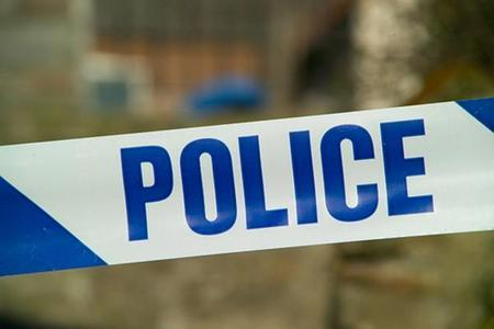 Men seen with knives following burglary