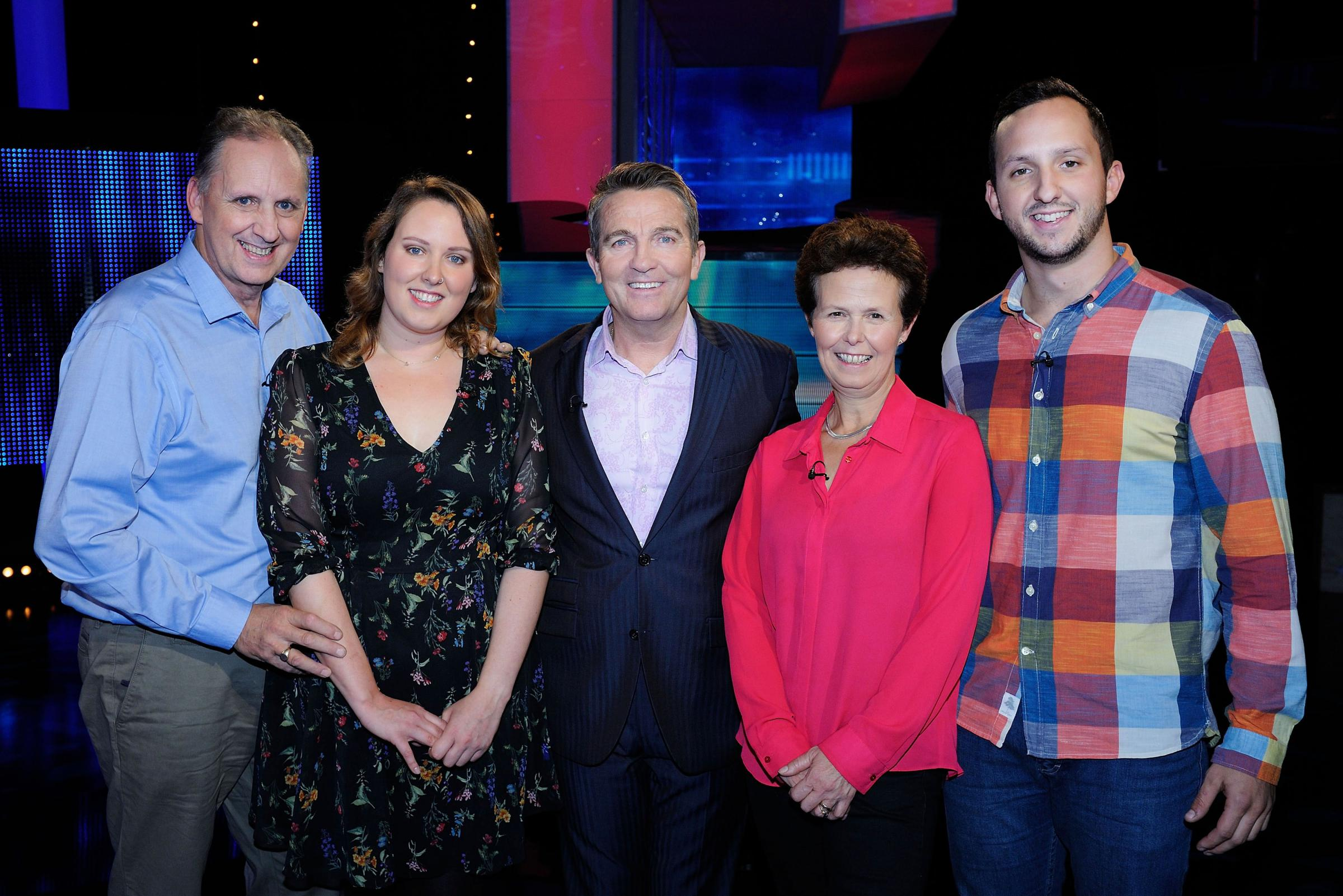 THE CHASE: The Bennett family on The Family Chase (ITV)