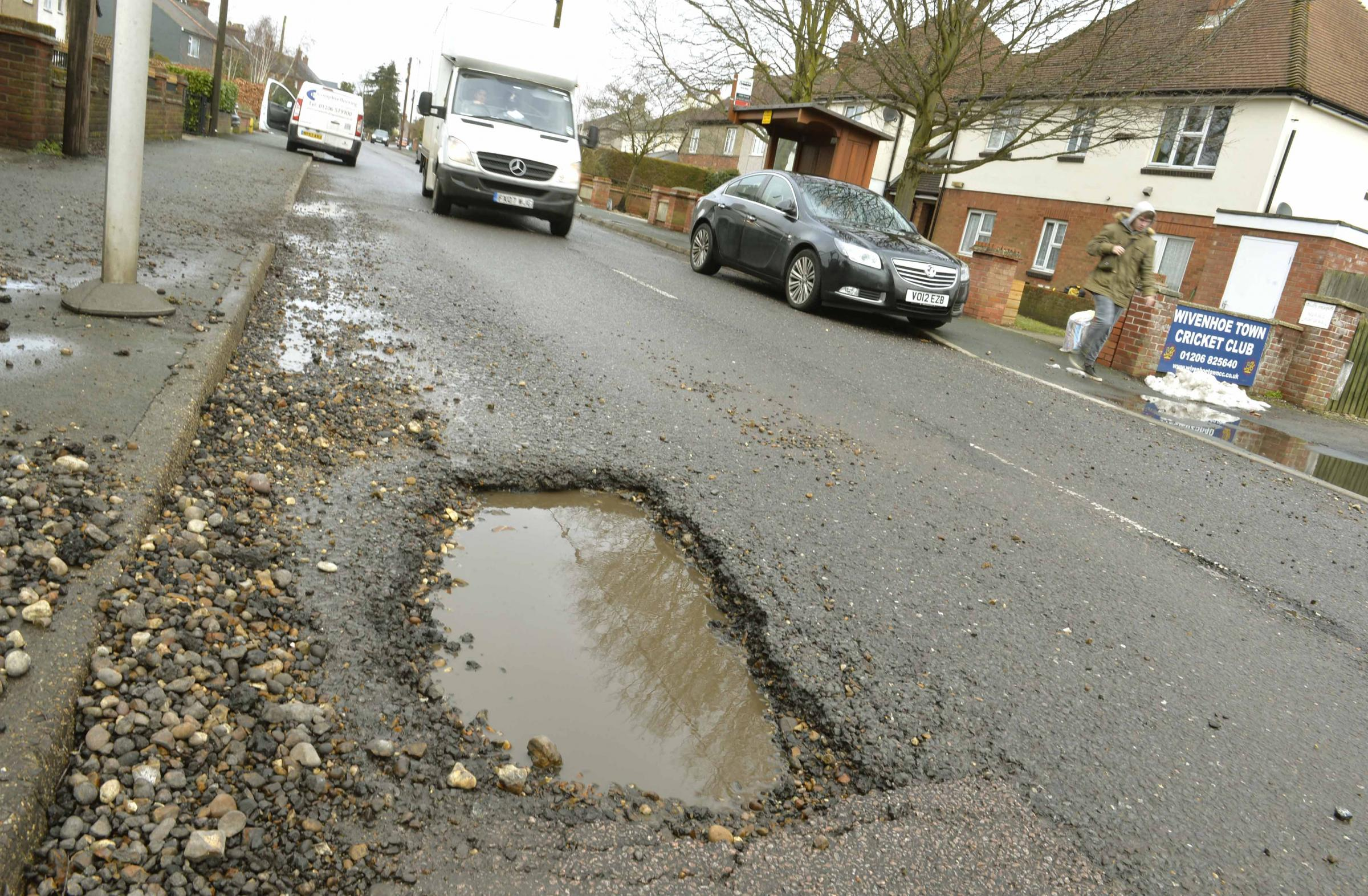 Essex to receive £10million from Government to fix roads
