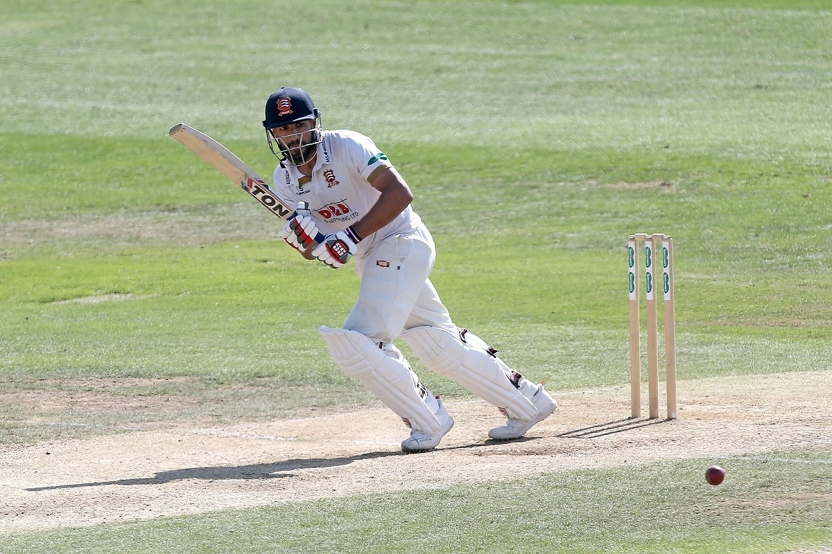 Ravi Bopara in batting action for Essex during Essex CCC vs Surrey CCC, Specsavers County Championship Division 1 Cricket at The Cloudfm County Ground on 6th September 2018.