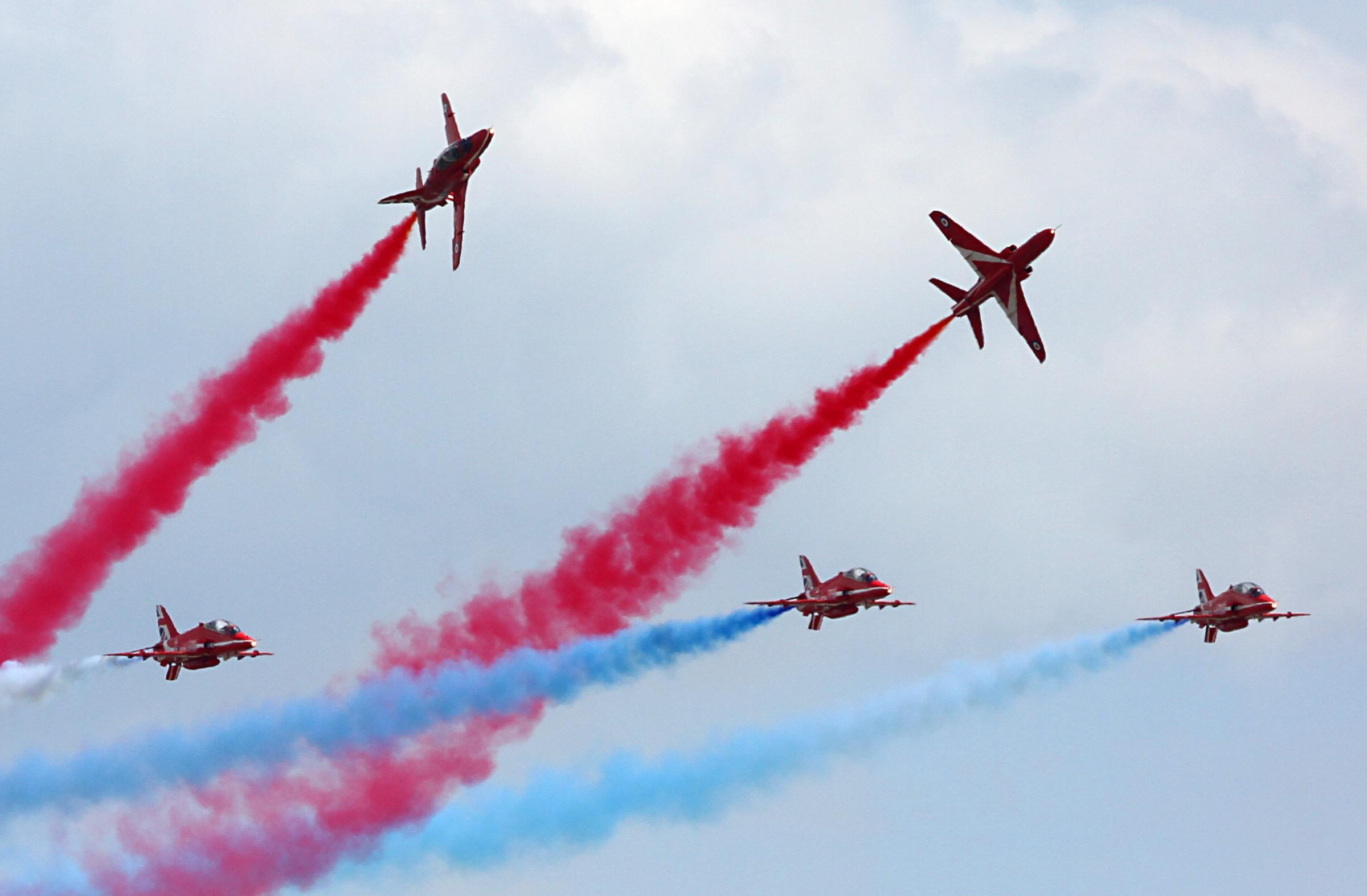 Red Arrows to miss next year's Clacton Airshow to tour North America