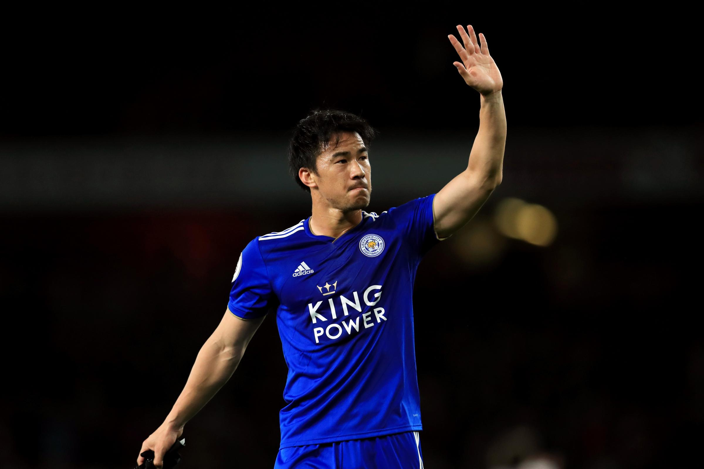 Shinji Okazaki created Leicester's equalising goal against Fulham (PA Archive/Mike Egerton)