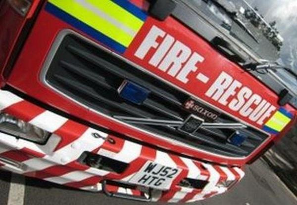 Elderly man rescued from house fire