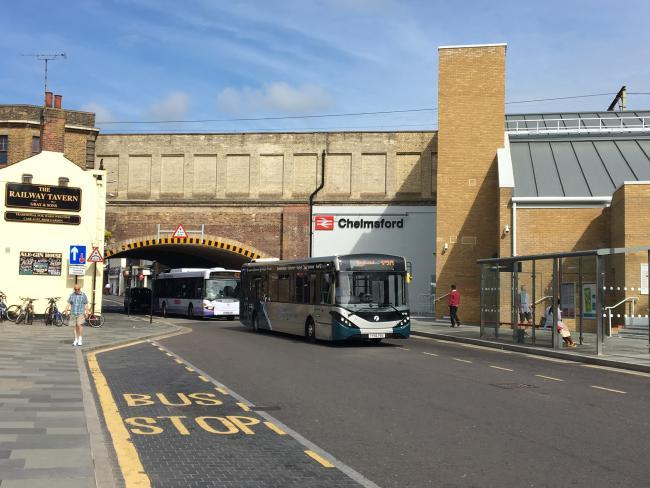 Duke Street, Chelmsford Bus Gate