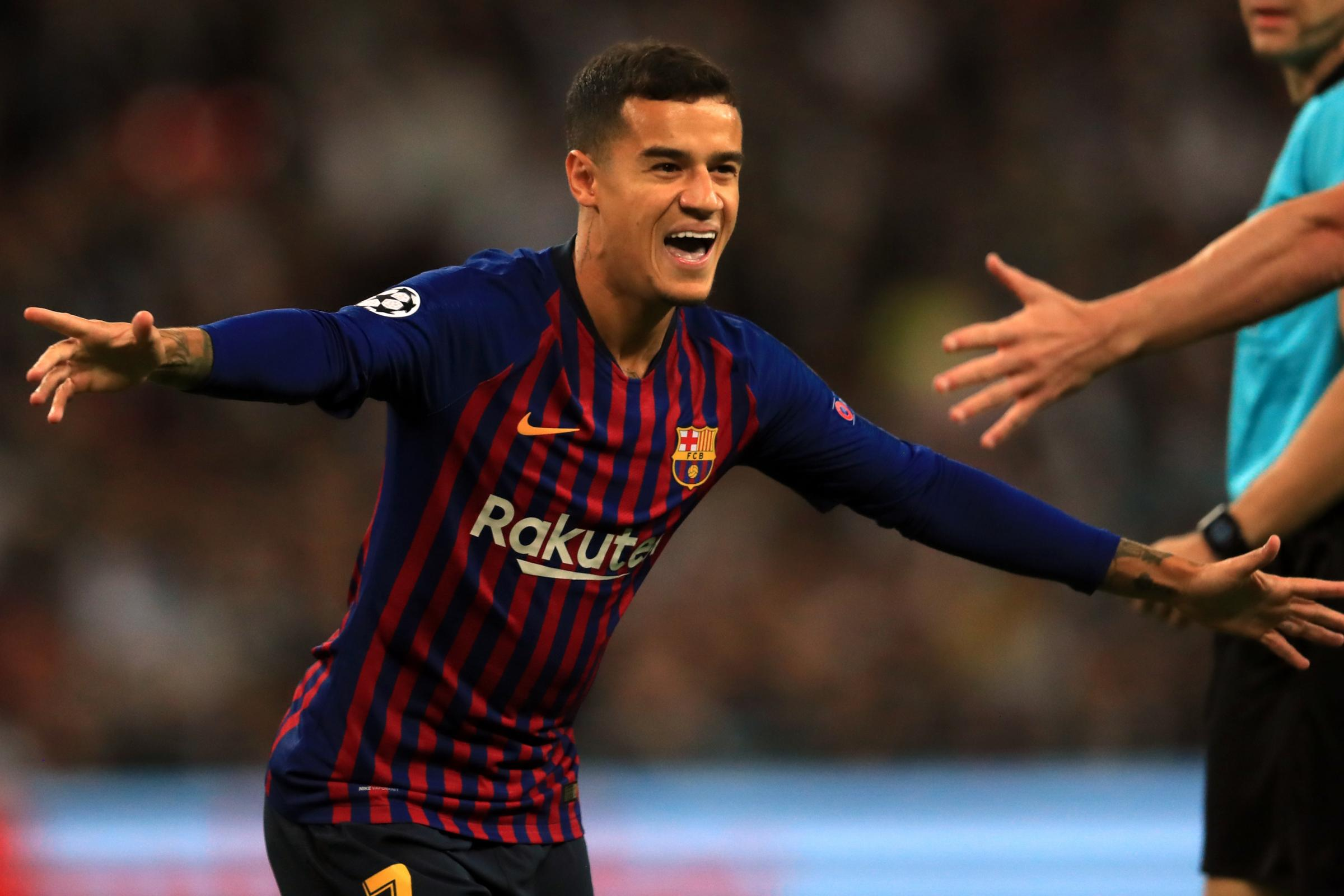 Philippe Coutinho has been linked with a Premier League return