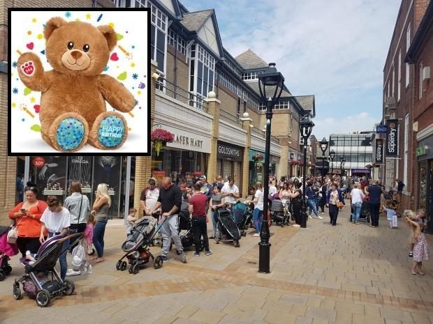 Build a Bear in Colchester