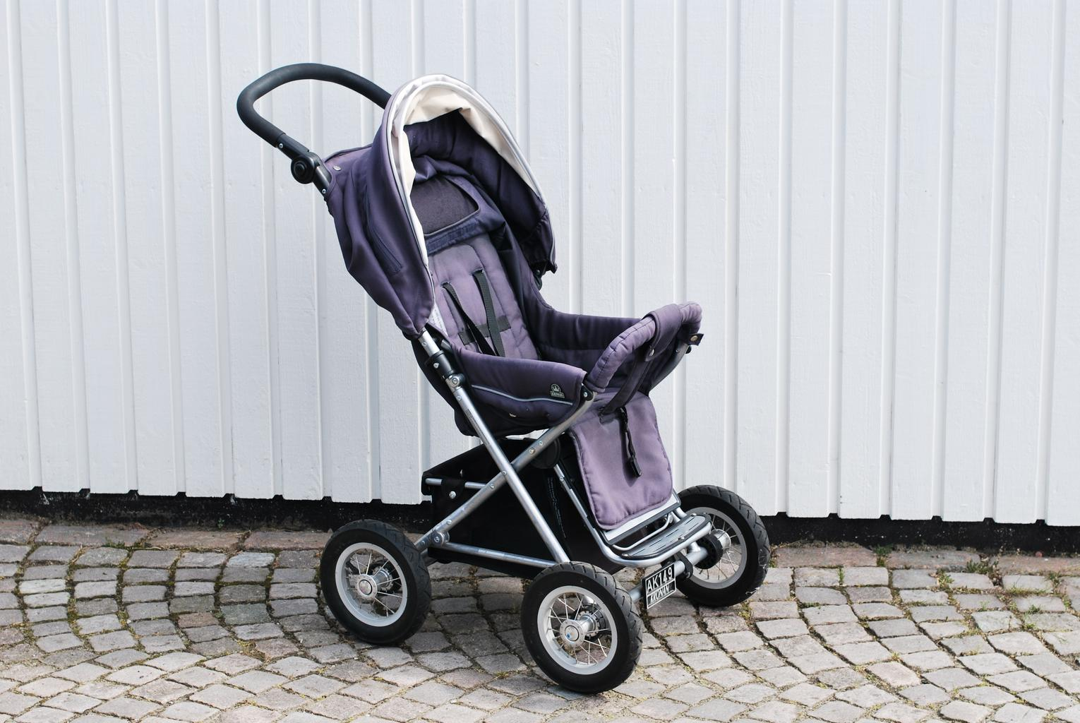 A stock image of a pram
