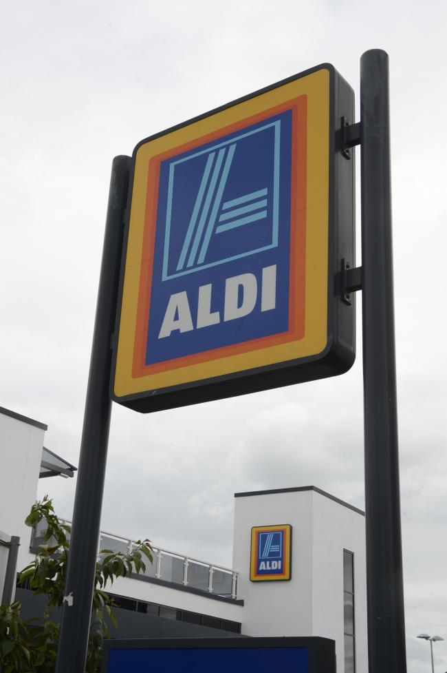 Aldi's store in London Road, Westcliff